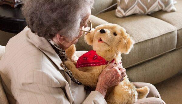 Roboterhund für Menschen mit Demenz