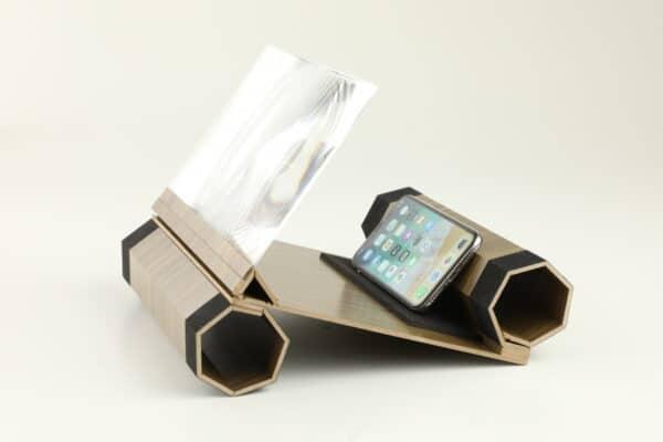 Linse für Smartphone Bildschirm
